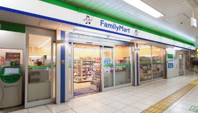 はまりん戸塚駅店のファミリーマートの写真